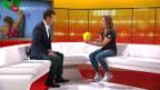 Video «Studiogast Petra Klingler: Gespräch Teil 2» abspielen