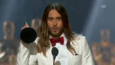 Video «Die Dankesrede von Jared Leto» abspielen