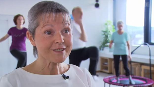 Rebounding: Interview mit Bewegungs-Pädagogin Ingrid Luginbühl