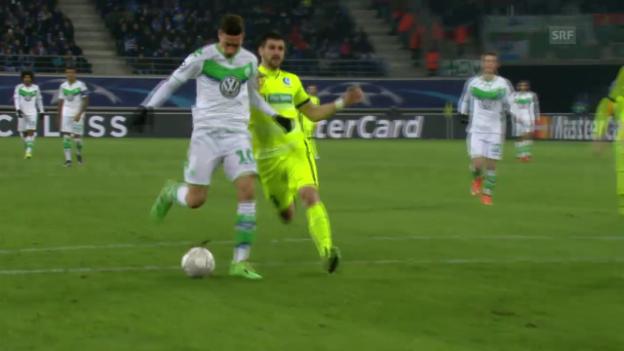 Video «Draxler trifft zum 2:0 gegen Gent» abspielen