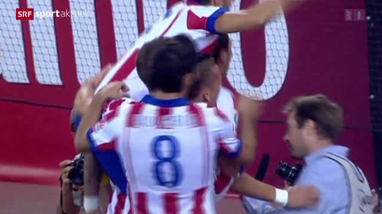 Fussball: Spanischer Supercup, Atletico - Real