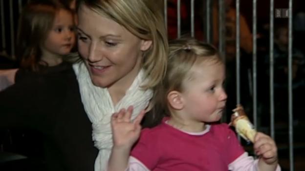 Video «Schwanger: Sonja Nef erwartet drittes Kind» abspielen