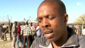 Video «Platin-Minen: Unerbittlicher Arbeitskampf in Südafrika » abspielen