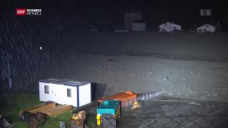Video «Einsatzkräfte in Bondo im Dauereinsatz» abspielen