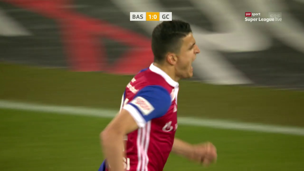 Basel kommt gegen GC zu einem knappen Sieg