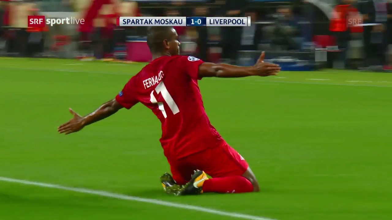 Kein Sieger bei Spartak Moskau gegen Liverpool