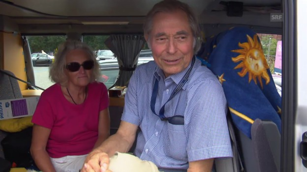Video «Margarete & Günter Franke, Camper aus Weil am Rhein, DE» abspielen