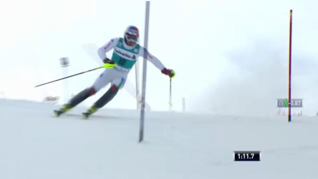 Video «Ski: 2. Lauf Manfred Mölgg («sportlive»)» abspielen