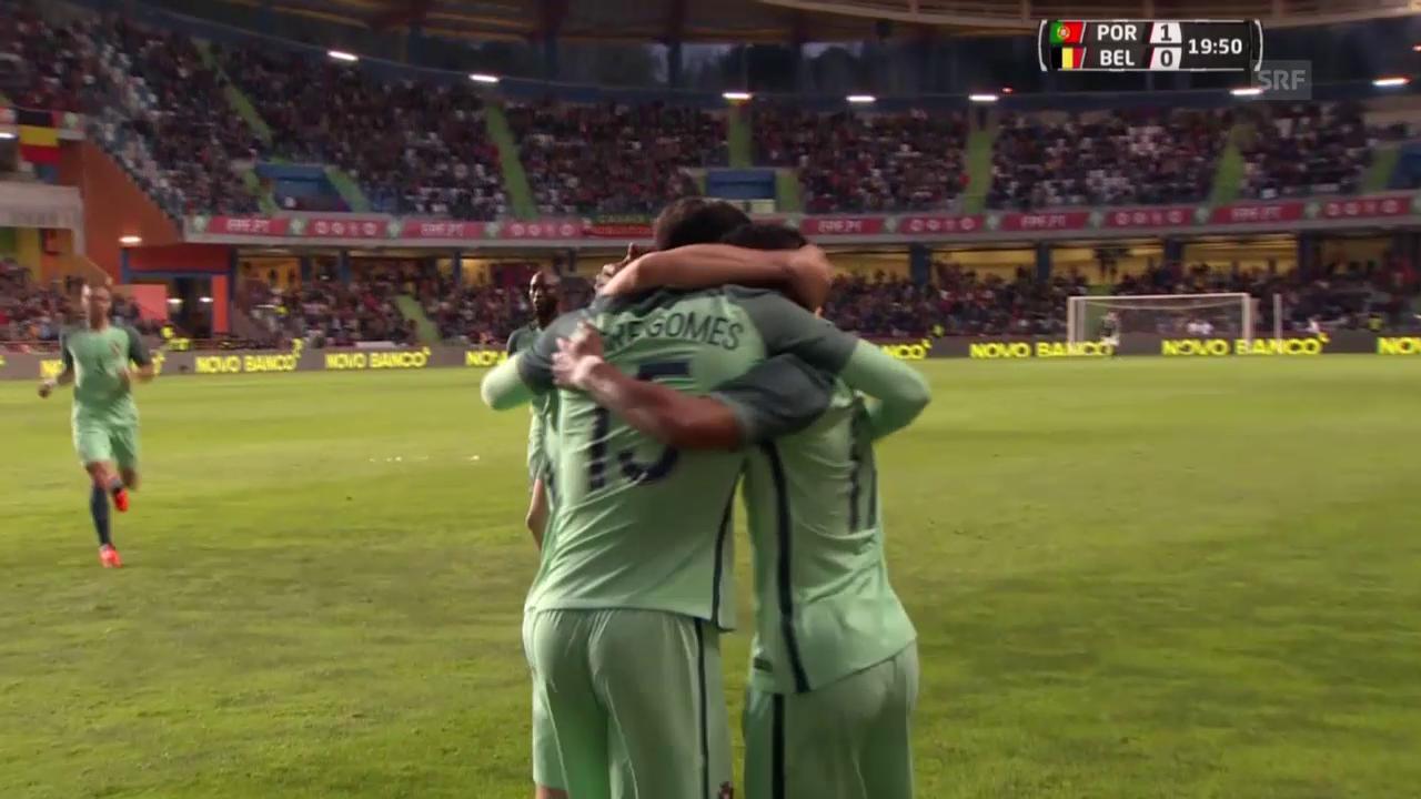 Portugal-Belgien 2:1 (sntv)