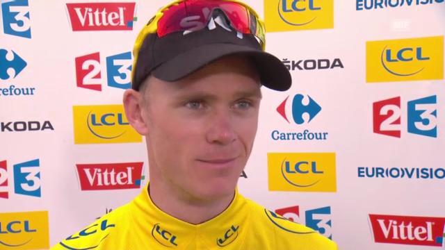 Tour de France, 13. Etappe: Interview mit Chris Froome