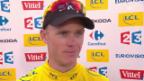 Video «Tour de France, 13. Etappe: Interview mit Chris Froome» abspielen
