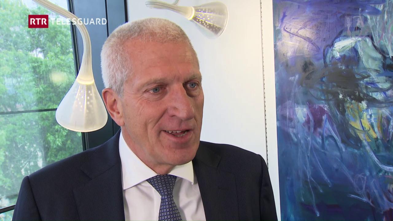 Pierin Vincenz sco nov president dal cussegl d'administraziun da la Repower