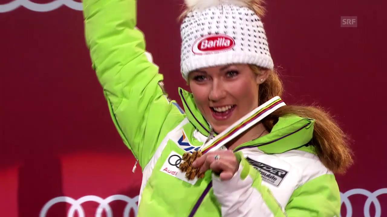 Ski alpin: Die Erfolge von Mikaela Shiffrin