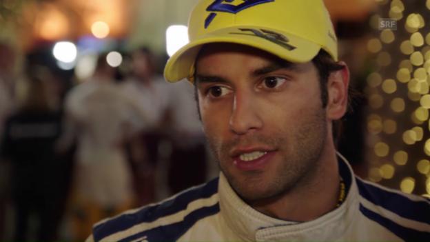 Video «Nasr: «Hatte Mühe, den Rhythmus zu finden» (englisch)» abspielen