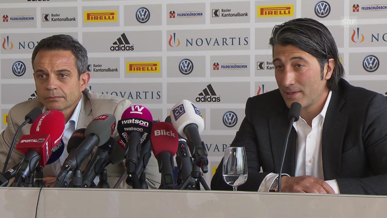 Fussball: Murat Yakin zu den internen Problemen beim FCB