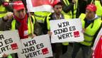 Video «Deutsche streikten an allen Fronten» abspielen