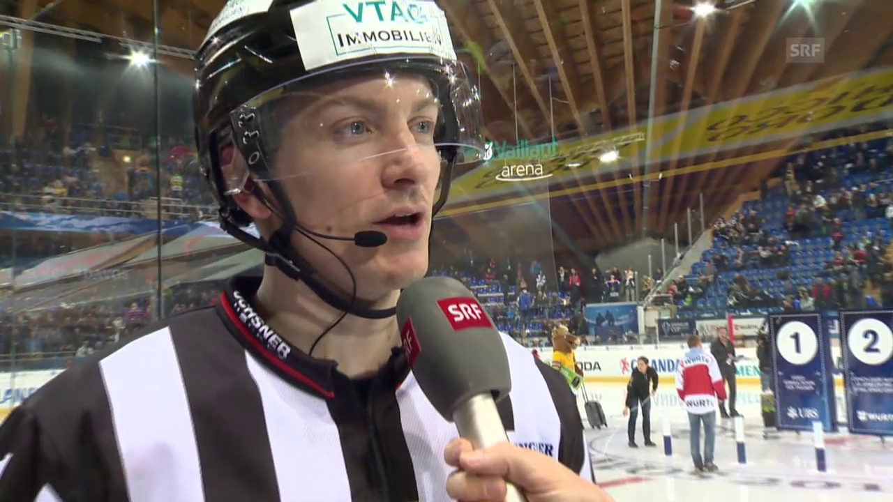 Eishockey: Spengler Cup, «Penalty Checker», Charging