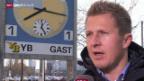 Video «Fussball: Christoph Spycher vor YB - Basel» abspielen