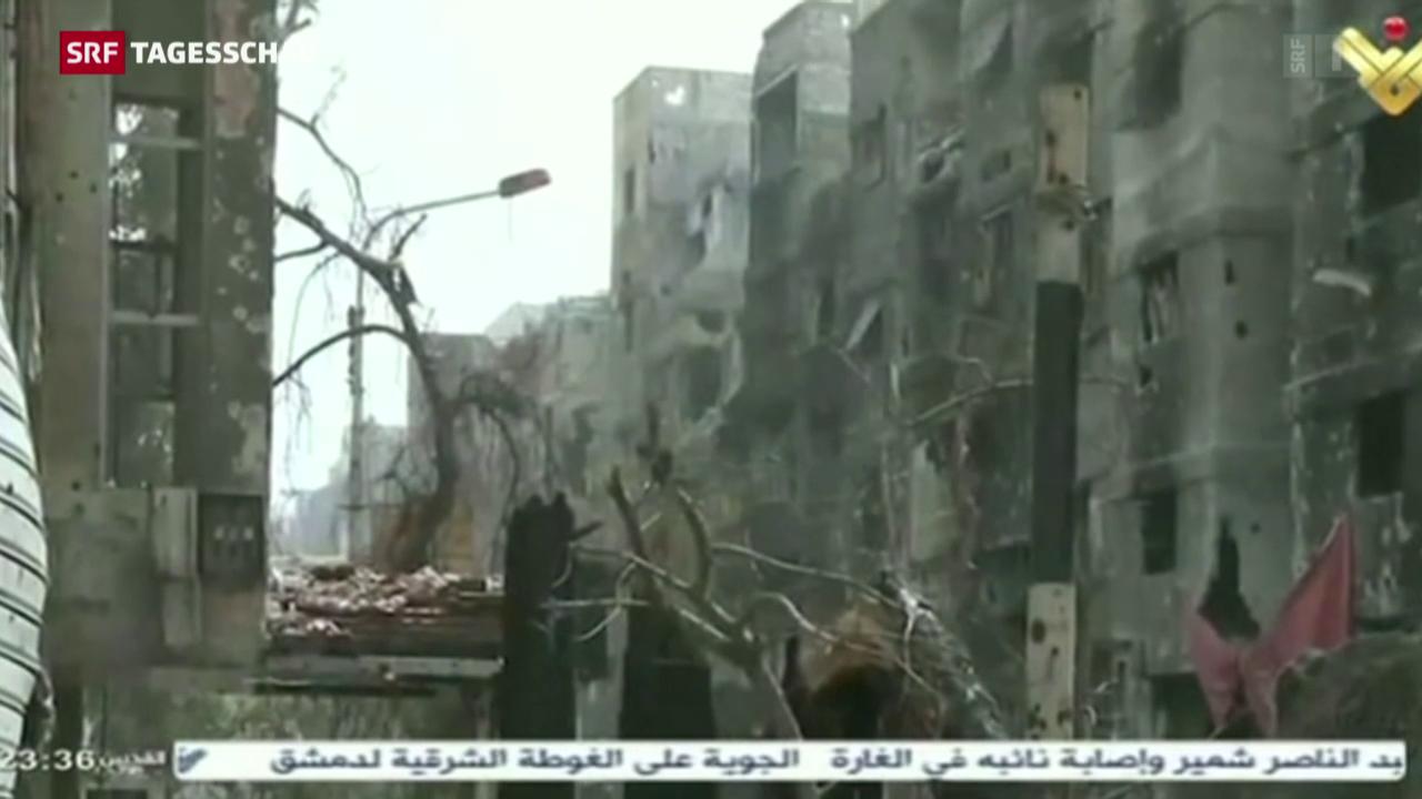 Nach Tod von Rebellenchef: IS-Abzug aus Damaskus ausgesetzt