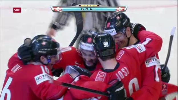 Video «Schweiz - Tschechien: Die Tore («sportlive»)» abspielen