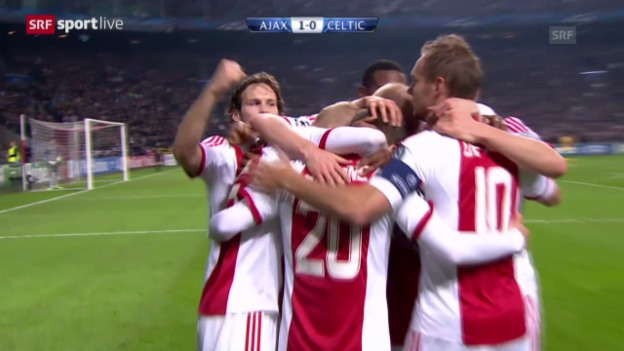 Video «Fussball: Ajax - Celtic» abspielen