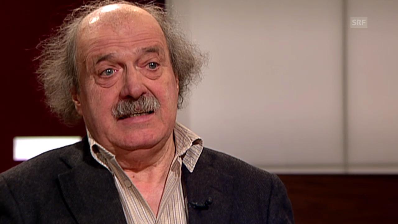 Urs Widmer: «Schriftsteller müssen nicht politisch sein»