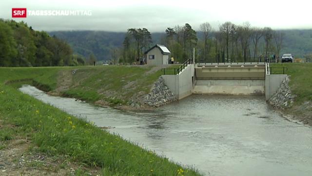 Sanierung der Dämme am Linthkanal
