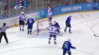 Video «Eishockey: Slowenien - USA, Tore (sotschi direkt, 16.02.2014)» abspielen