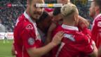 Video «Lugano mit Auswärtssieg gegen schwaches St. Gallen» abspielen