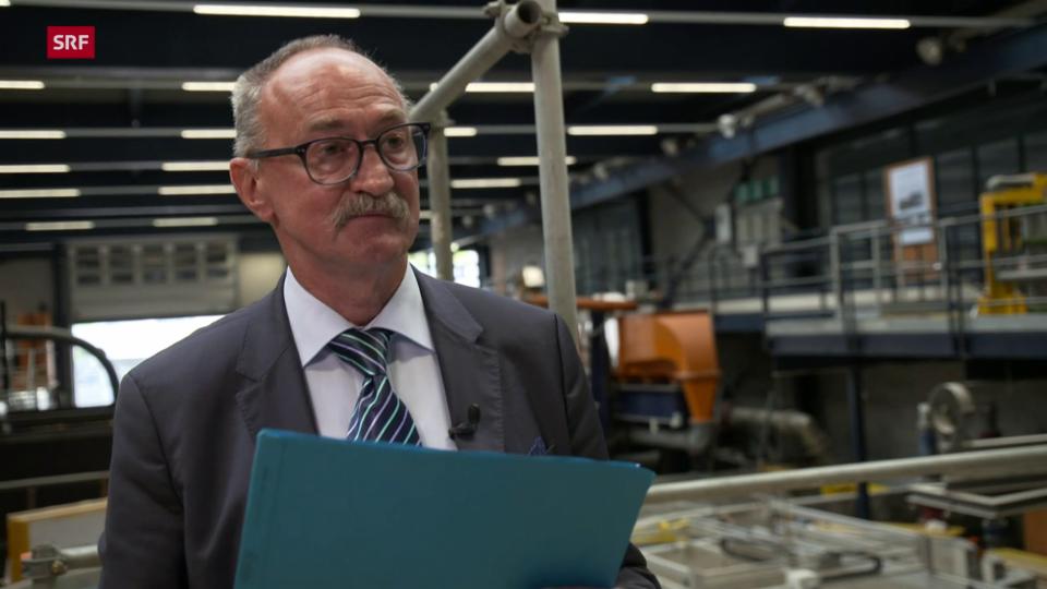 Anton Schleiss, Professor ETH Lausanne: «Das Ausräumen der Munition ist mit einem sehr grossen Risiko verbunden.»