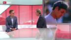 Video «Tennis: Studiogast Heinz Günthardt (III)» abspielen