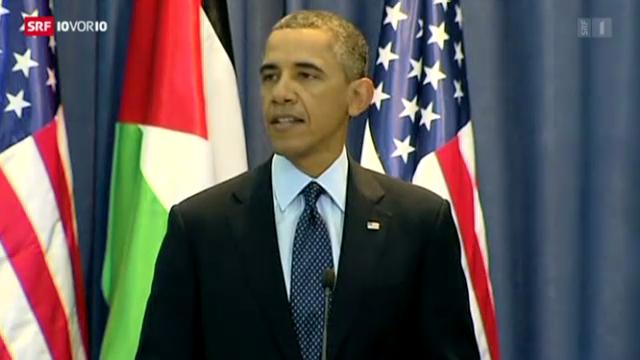 Obama auf Nahost-Reise