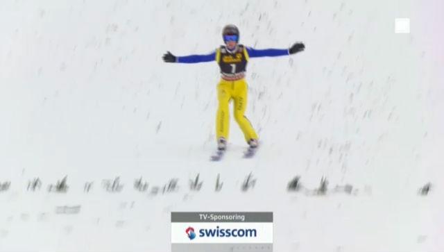 Skispringen: 1. Sprung Marco Grigoli («sportlive»)