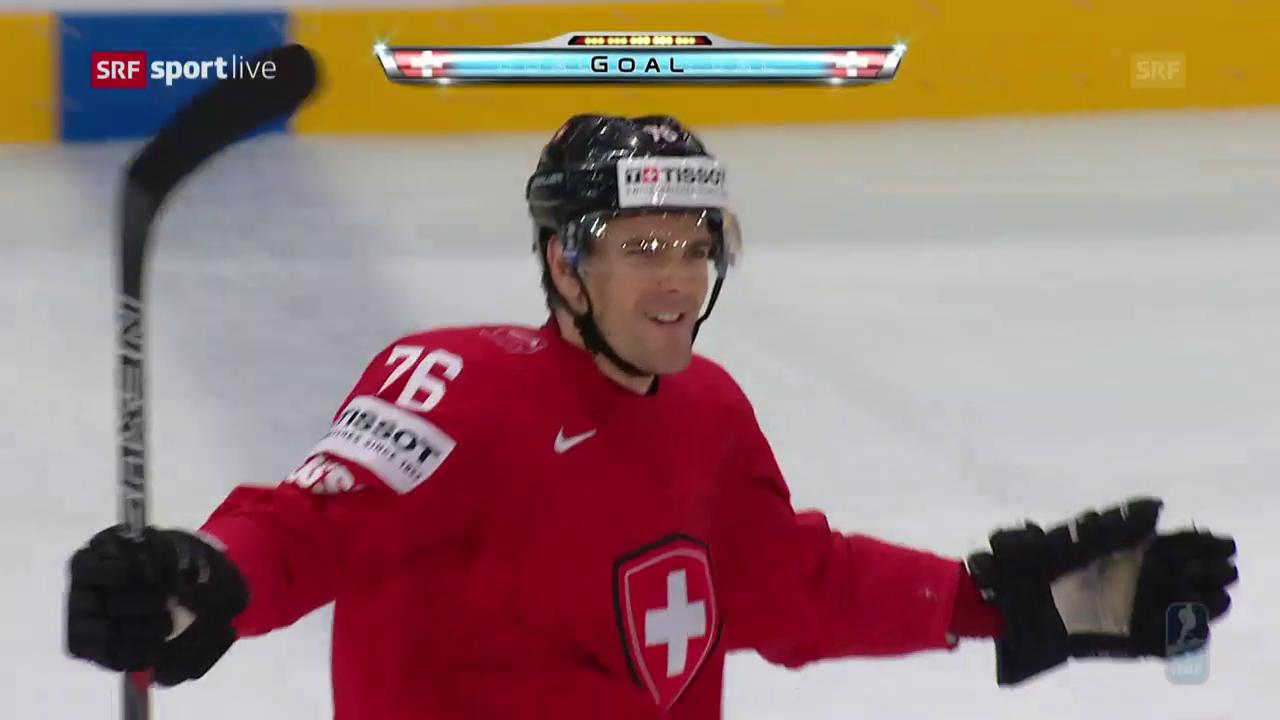 2:0 nach 11 Minuten: Schweiz glückt Start gegen Finnland