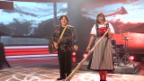 Video «Lisa Stoll und Salvo mit «Swiss Lady»» abspielen