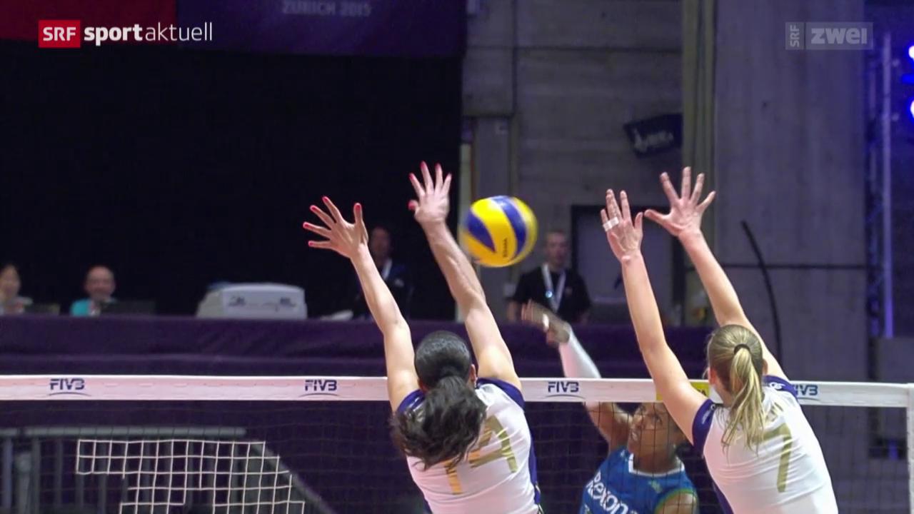 Volleyball: Klub-WM, Volero - Rio de Janeiro