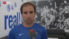 Video «Sociedad-Trainer Jagoba Arrasate zu Seferovic» abspielen