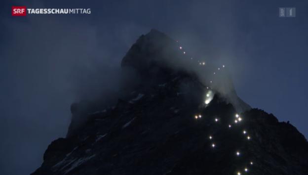 Video «Jubiläum Matterhornbesteigung» abspielen