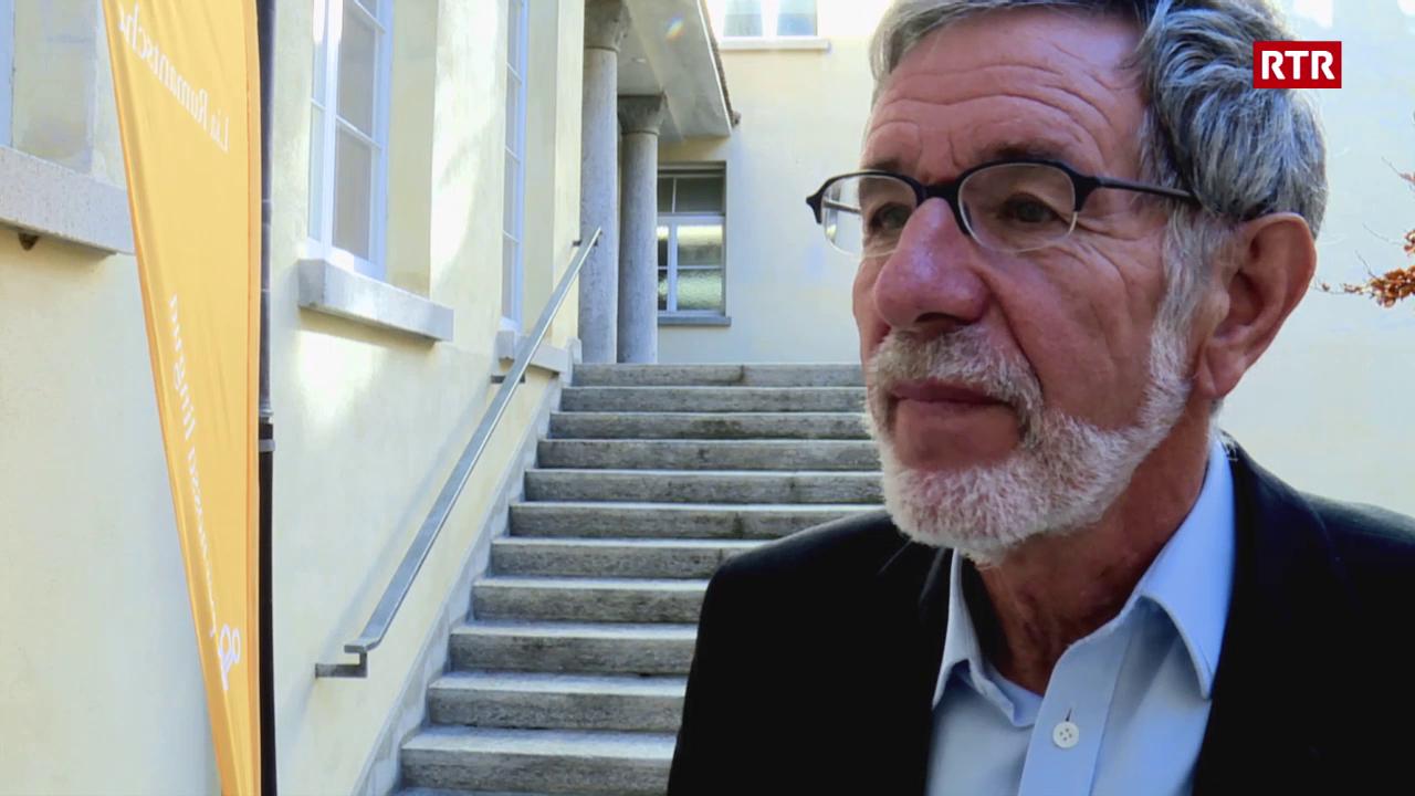 Johannes Flury nov president da la Lia Rumantscha