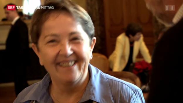 Video «Hildegard Fässler tritt zurück» abspielen