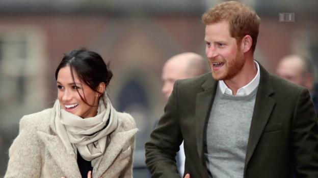 Video «Harry und Meghan – Frischer Wind im Königshaus» abspielen