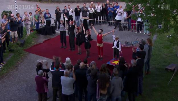 Video «Der letzte Arbeitstag und ein Zirkus» abspielen