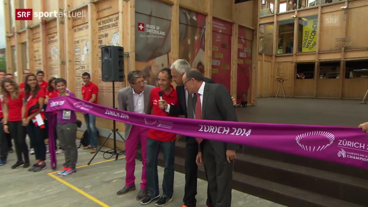 Leichtathletik: Kick-Off zur EM in Zürich