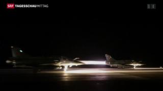 Video «Frankeich reagiert mit Luftschlägen » abspielen