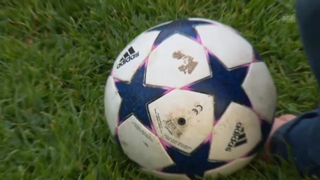 Video «Aurelio, der künftige Fussballstar» abspielen