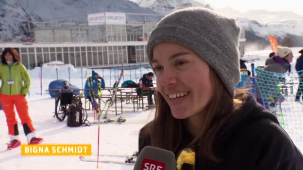 Video «Guter Start zum Behinderten-Weltcup in St. Moritz» abspielen