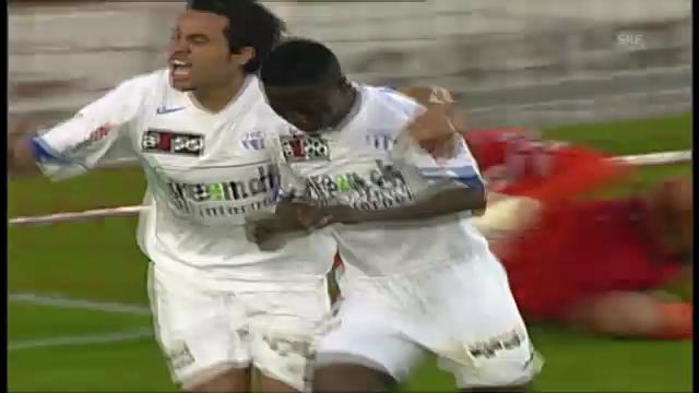 Keitas Tor in der «Finalissima» 2006 gegen FCB