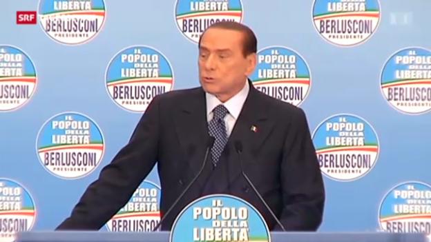 Video «Berlusconi trifft den Nerv des Volks» abspielen