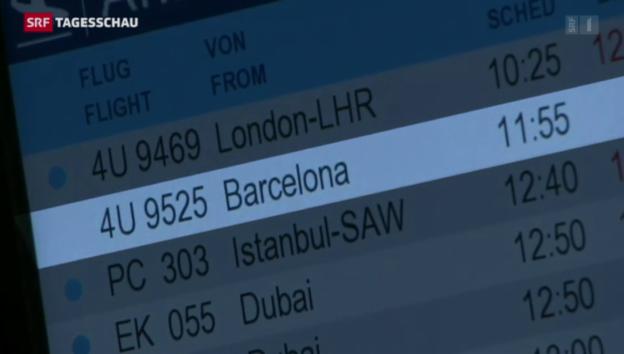 Video «Trauer am Flughafen Düsseldorf» abspielen