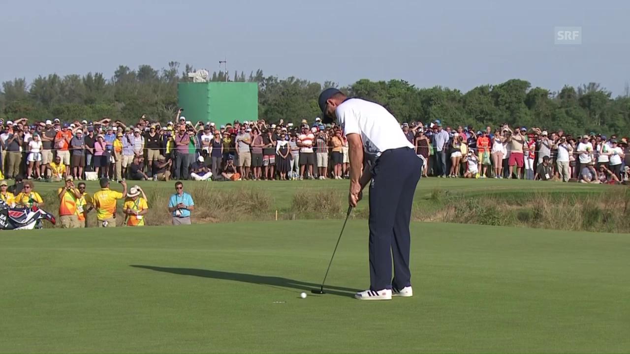 Justin Rose gewinnt Golf-Showdown